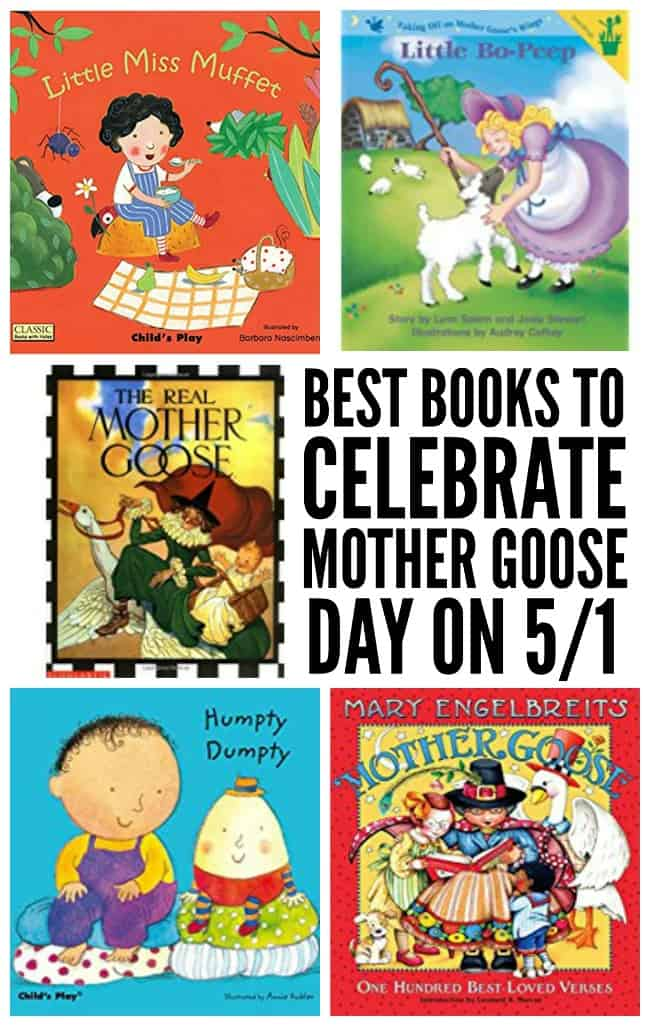 Favorite Books with Mother Goose Nursery Rhyme Characters