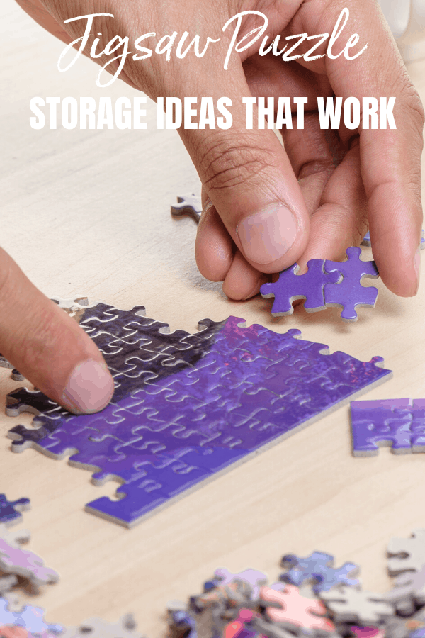 Are you searching for jigsaw puzzle storage ideas? Check out what works for me and how you can store your puzzles more easily.